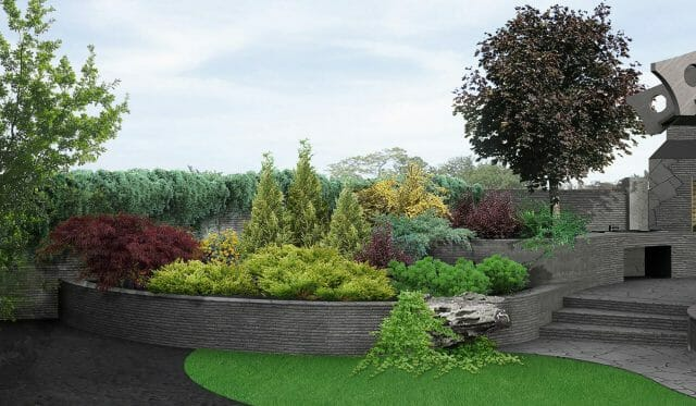 Beautiful Space of Landscape Enhancement Design
